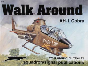 Squadron/Signal Publications AH-1 Cobra Walk Around -- Authentic Scale Model Airplane Book -- #5529