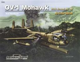 Squadron OV-1 Mohawk Walk Around Color Authentic Scale Model Airplane Book #5549