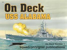 Squadron USS Alabama On Deck Authentic Scale Model Boat Book #5601