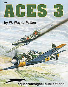 Squadron ACES 3 Authentic Scale Model Airplane Book #6088