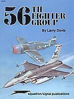 56th Fighter Group Authentic Scale Model Airplane Book #6172