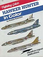Squadron/Signal Publications Hawker Hunter in Color -- Authentic Scale Airplane Vehicle Book -- #6506