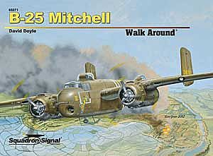 Squadron/Signal Publications B-25 MITCHELL WalkArd HC