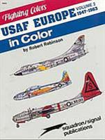 Squadron USAFE in Color Vol-2 Authentic Scale Airplane Vehicle Book #6563
