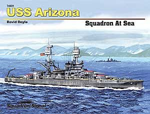 Squadron/Signal Publications USS ARIZONA Hardcover