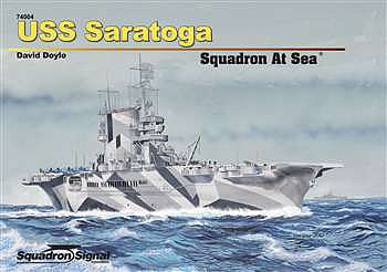 Squadron/Signal Publications USS SARATOGA Squdrn at Sea HC
