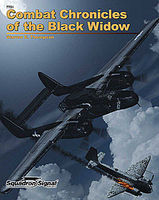 Squadron Black Widow Combat Chronicles Authentic Scale Model Airplane Book #7701