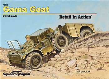 Squadron/Signal Publications GAMA GOAT DETAIL in Action HC