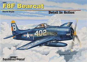 Squadron F8F BEARCAT in Action HC