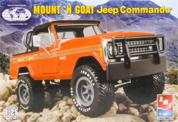 Stevens 1/25 Mount 'n Goat Commando Jeep