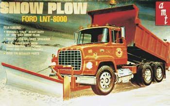 Stevens 1/25 Ford LNT8000 Snow Plow Dump Truck