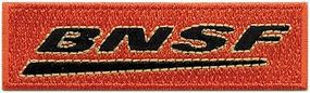 Sundance BNSF (Post-2007 Wedge Logo) 2-3/4 Horizontal Cloth Railroad Patch #71010