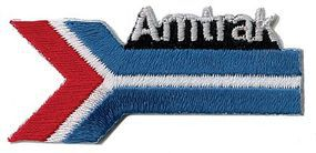 Sundance Amtrak (Arrow, Blue, Red, White) 2-1/4 Horizontal Cloth Railroad Patch #76007