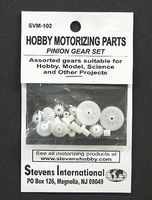 Stevens-Motors Assorted Plastic Pinion Gear Set (1.9mm ID) (20pcs)