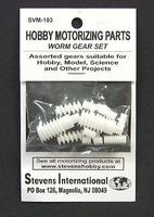 Stevens-Motors Assorted Plastic Worm Gear Set (1.9mm ID) (12pcs)