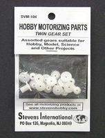 Stevens-Motors Assorted Plastic Twin Gear Set (1.9mm ID) (20pcs)