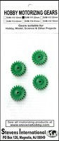 Stevens-Motors Plastic Gears 22mm x 6mm 20-teeth (3mm ID) (4)