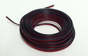 Stevens-Motors 2-Conductor Wire Red-Black 16' (Bag)