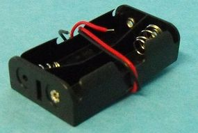 Stevens-Motors Battery Box for 2 AA Batteries (wired)