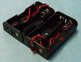 Stevens-Motors Battery Box 2-Pack each for 2 AA Batteries (wired)