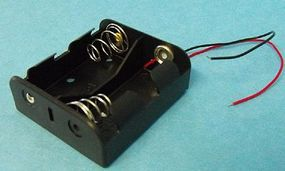 Stevens-Motors Battery Box for 2 C Batteries (wired)