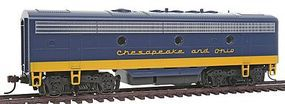 Stewart F7B Ph2 NonPwr C&O - HO-Scale