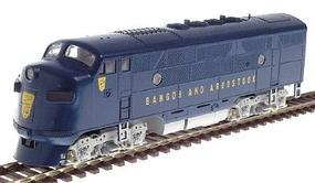 Stewart EMD F3 PhII Late BAR - HO-Scale