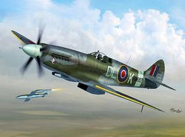 Sword Spitfire MK XIV C/E Fighter Plastic Model Airplane Kit 1/72 Scale #72095