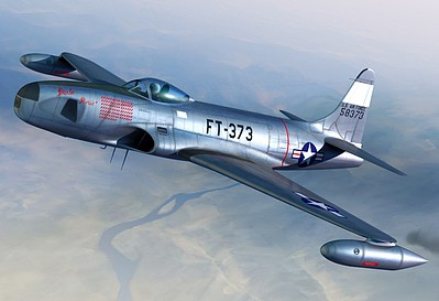 Sword RF80A over Korea USAF Fighter Plastic Model Airplane Kit 1/72 Scale #72105