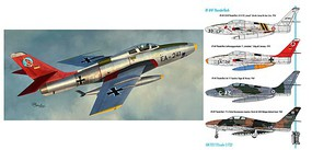 Sword 1/72 RF84F Thunderflash Aircraft