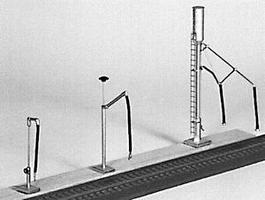 Stewart Diesel Sand Tower Water & Fuel Column Model Railroad Building Accessory N Scale #1103