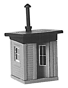 Stewart Products Trackside Shanty Kit -- Model Railroad Building -- N Scale -- #1116