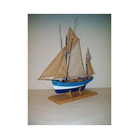 Soclaine 1/50 Saint Gildas 4-Masted 1908 Isle of Groix Tuna Fishing Boat