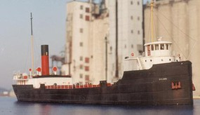 Sylvan Great Lakes Freighter N-Scale