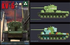 Takom Soviet Super Heavy Tank KV-5 Plastic Model Military Vehicle Kit 1/35 Scale #2006