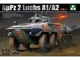 Takom SpPz2 Luchs A1/A2 Plastic Model Military Vehicle Kit 1/35 Scale #2017