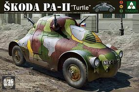 Takom WWII Skoda PA-11 Turtle Plastic Model Military Vehicle Kit 1/35 Scale #2024