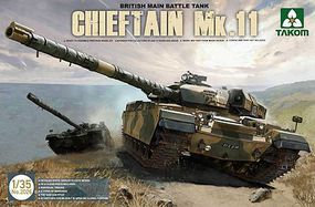 Takom Chieftain Mk.11 British Main Battle Tank Plastic Model Military Vehicle 1/35 Scale #2026