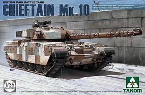 Takom Chieftain Mk.10 British MBT 2n1 Plastic Model Military Vehicle Kit 1/35 Scale #2028