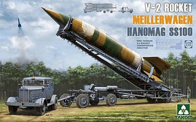 Takom V-2 Rocket Hanomag SS-100 Plastic Model Military Vehicle Kit 1/35 Scale #2030