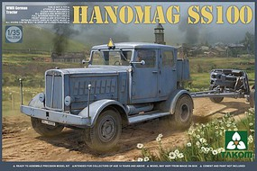 Takom WWII German Tractor Hanomag SS100 Plastic Model Military Vehicle Kit 1/35 Scale #2068