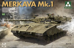 Takom Israeli Main Battle Tank Merkava Mk.1 Plastic Model Military Tank Kit 1/35 Scale #2078
