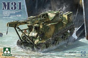Takom M31 US Tank Recovery Vehicle Plastic Model Military Vehicle Kit 1/35 Scale #2088
