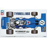 Tamiya Tyrrell 003 1971 Monaco GP Plastic Model Car Kit 1/12 Scale #12054