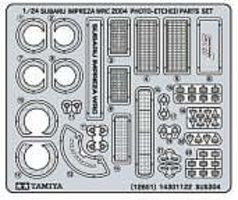 Tamiya Subaru Impreza Photo-Etch Detail Set Plastic Model Vehicle Accessory Kit 1/24 Scale #12601
