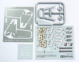 Tamiya Ducati Desmosedici Photo Etched Racing Stand Plastic Model Display 1/12 Scale #12606