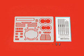 Tamiya Nissan GT-R R35 GT Ver Photo-Etched Parts Plastic Model Car Parts 1/24 Scale #12629