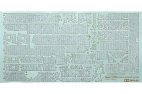 Tamiya Zimmerit Coating Sheet Elefant Markings Plastic Model Vehicle Decal Kit 1/35 Scale #12644