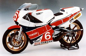 Yamaha YZR-500 Taira Version Plastic Model Motorcycle Kit 1/12 Scale #14075