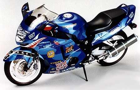 Tamiya Honda CBR 1100XX With Me Bike -- Plastic Model Motorcycle Kit -- 1/12 Scale -- #14079